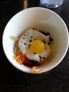Quail Egg Over Rice