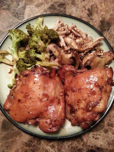 Asian Marinated Baked Chicken Recipe   munkie VS the world